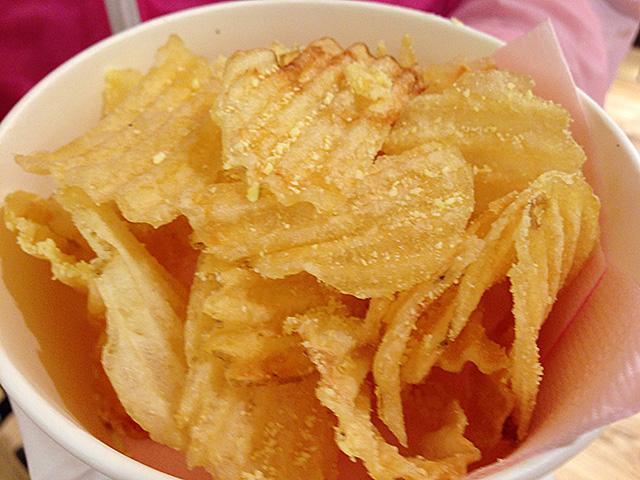 Freshly-Fried Potato Chips