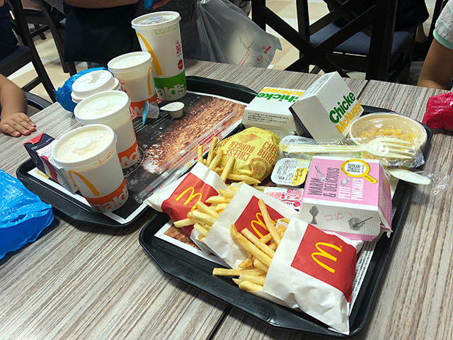 McDonald's Lunch
