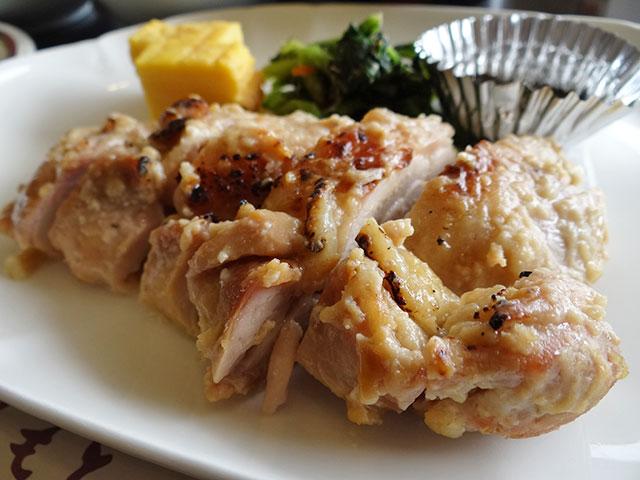 Grilled Saikyo-Miso Flavored Chicken