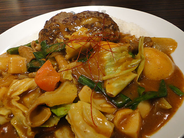 Grandmother Curry with Spicy Giblets and Hamburger