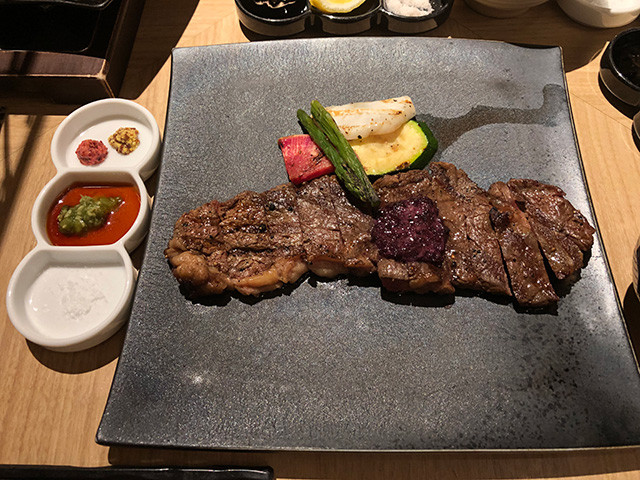 Grilled Beef Sirloin Stake