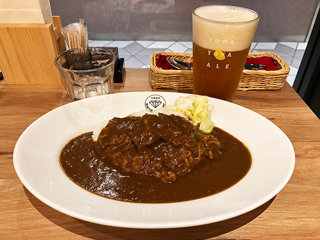 Beef Curry with Yona Yona Ale