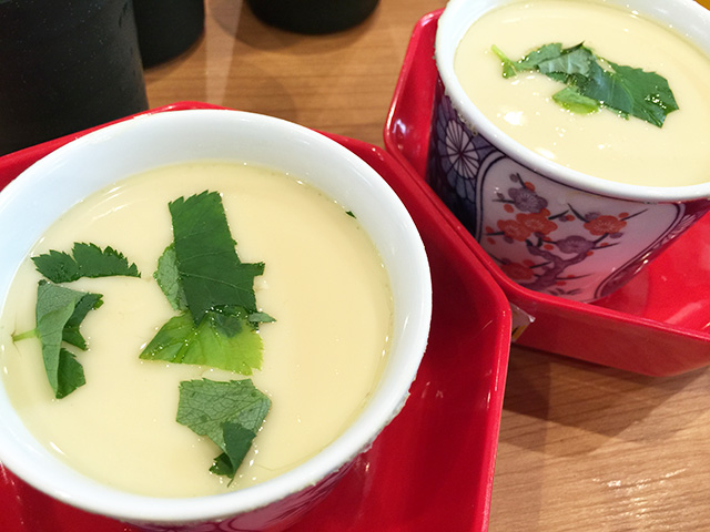 Steamed Egg Hotchpotch