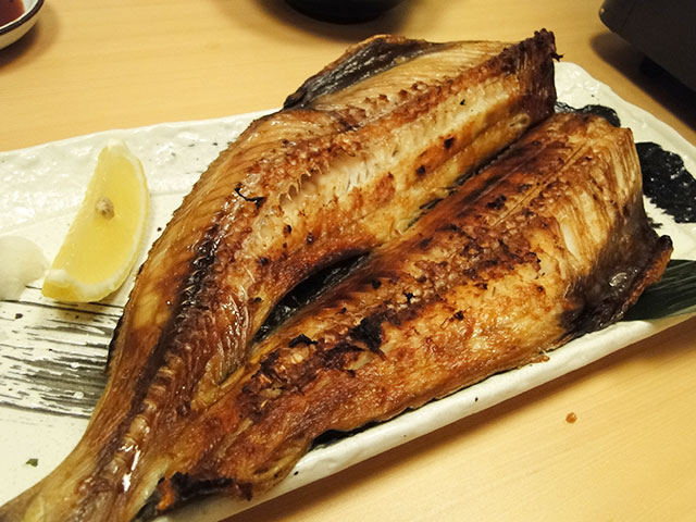 Salt-Roasted Atka Mackerel
