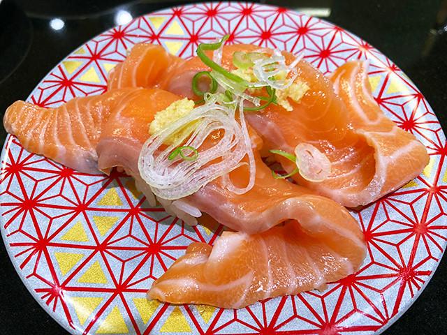 Fresh Fatty Salmon