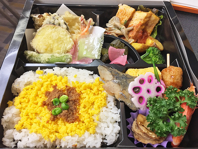 Boxed Lunch of SFRRJ2017 Day 1
