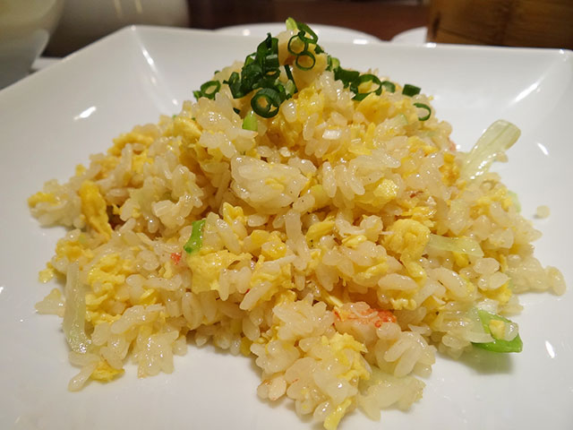 Fried Rice with King Crab