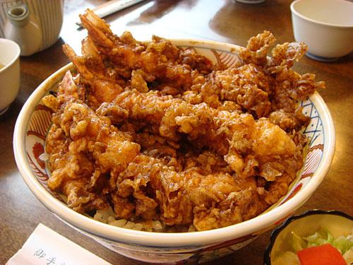 Prawn Tempura Rice Bowl