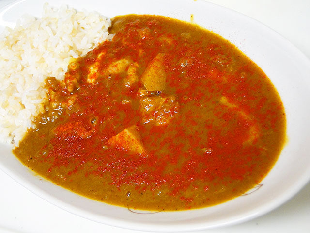Chicken Curry Spicy