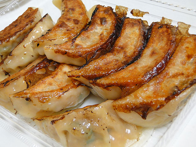 Gyoza Dumplings of Raijin Noodle