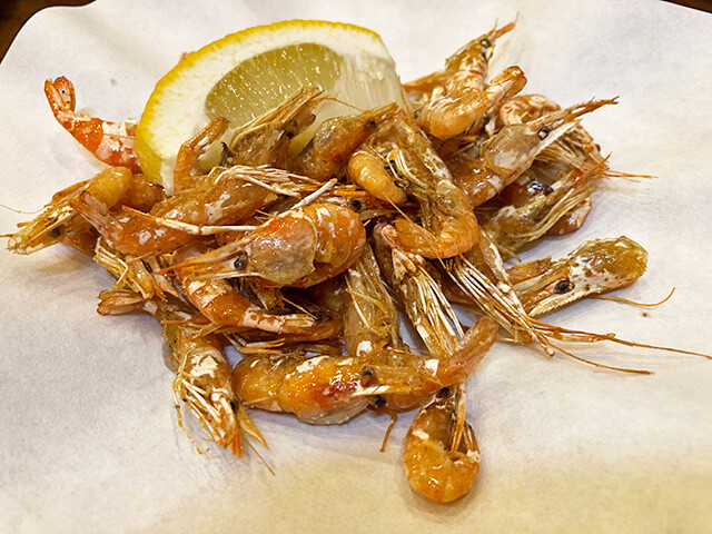 Deep-Fried Shrimps