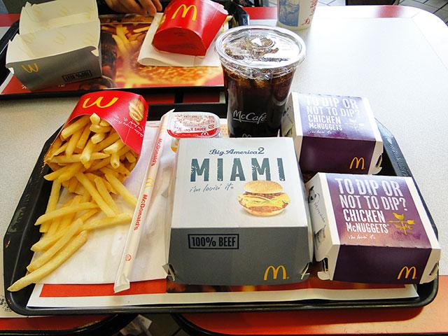 MIAMI Burger Set