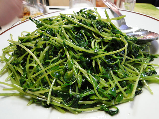 Pan-Fried Soy Bean Sprout