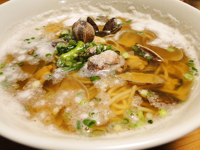 Clam Ramen Noodles