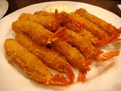 Ten Fried Shrimps