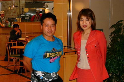 With Miyako Hori