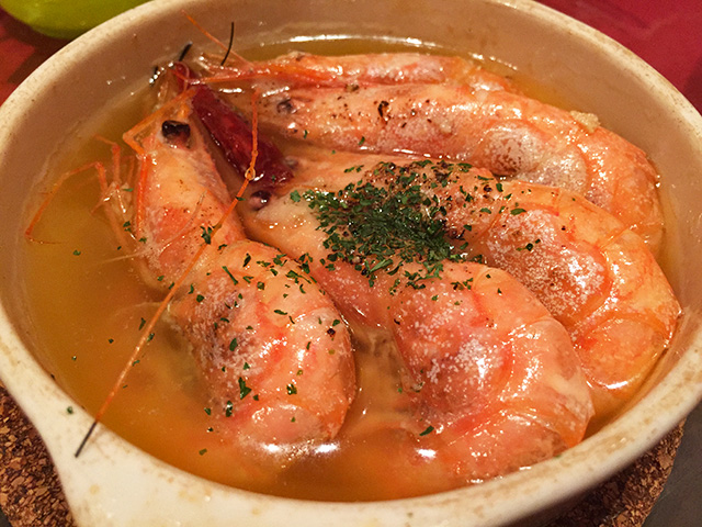 Shrimp Ajillo