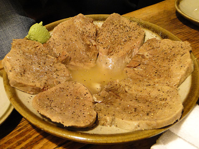 Boiled Thick-Sliced Beef Tongue