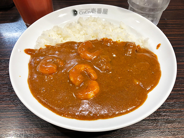 Half Order Beef Curry with Stewed Shrimps