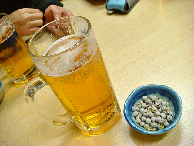 Draft Beer and Beans