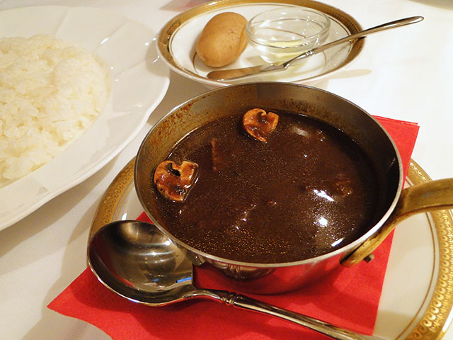 Beef Curry of Casserole