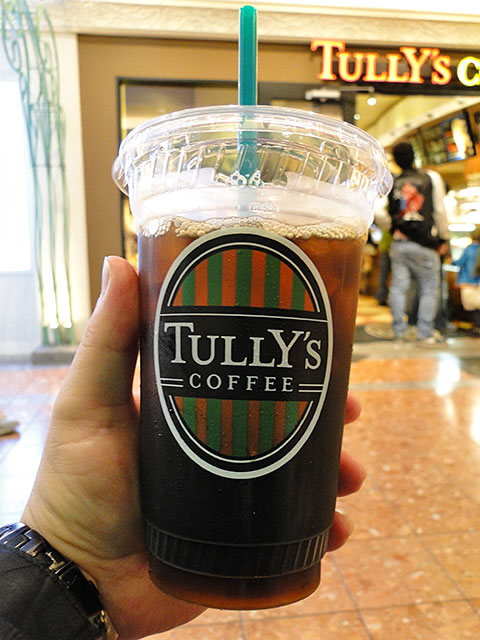 TULLY's Iced Coffee