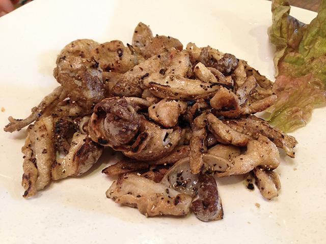 Stir-Fried Pork Innards