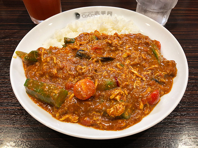 3rd Chicken and Summer Vegetables Curry