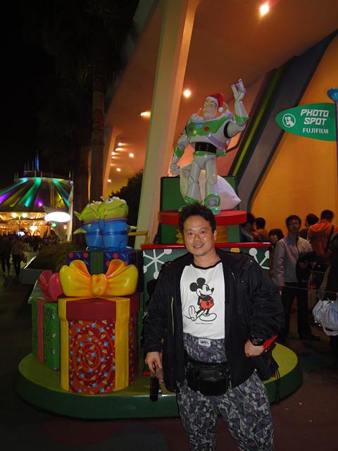 Buzz Lightyear and Dr. MaCHO