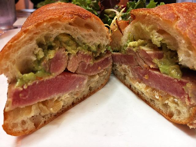 Seared Tuna Sandwich