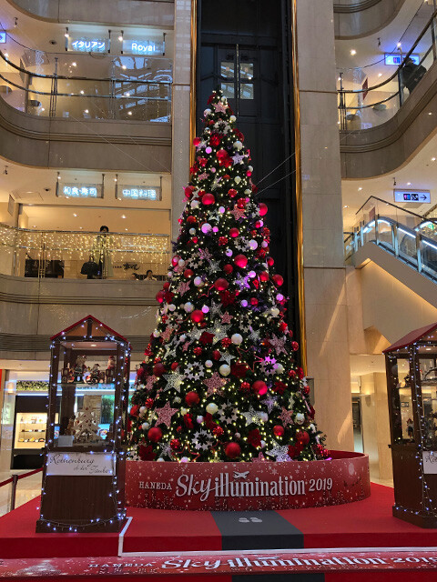 Christmas Tree at Haneda Airport