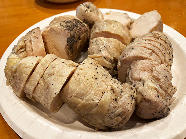Steamed Chicken Breast