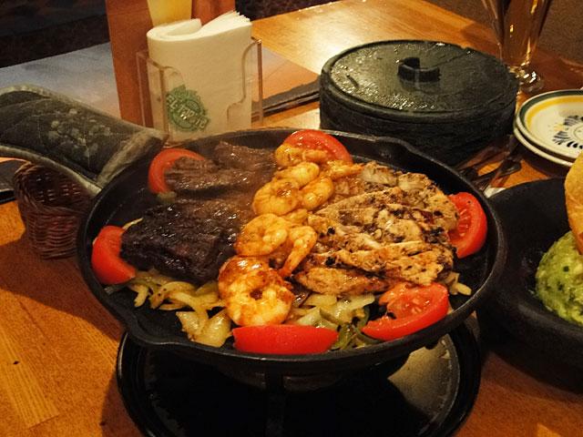 Grilled Chicken & Beef Fajitas