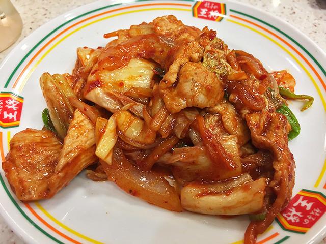 Pork and Kimchi Stir Fry