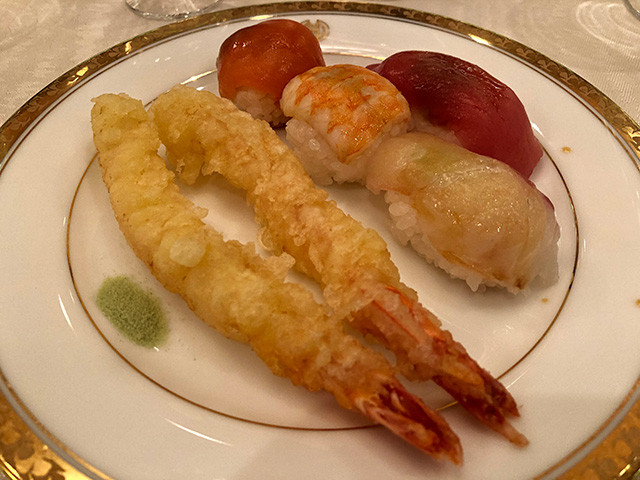 Tempura and Sushi