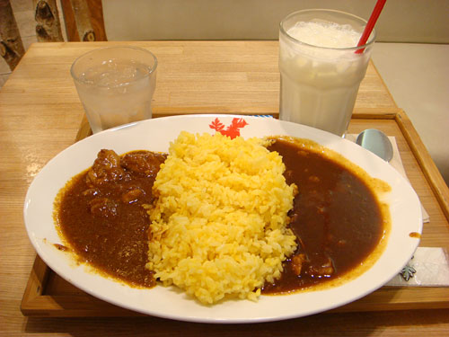 Half and Half Curry