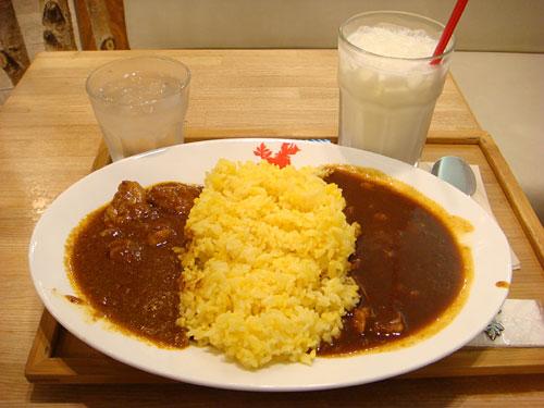 Half and Half Curry