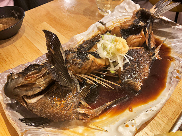 Boiled Sea Robin