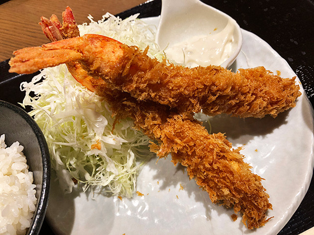Jumbo Fried Shrimps
