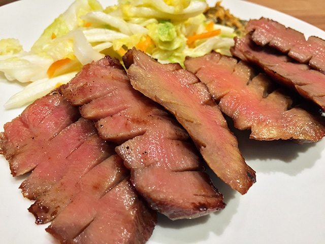 Broiled Thick Ox Tongue