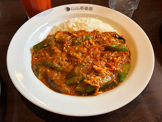 5th Chicken and Summer Vegetables Curry