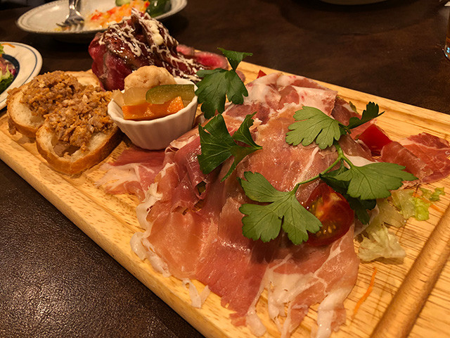 Tokyo Meat Platter