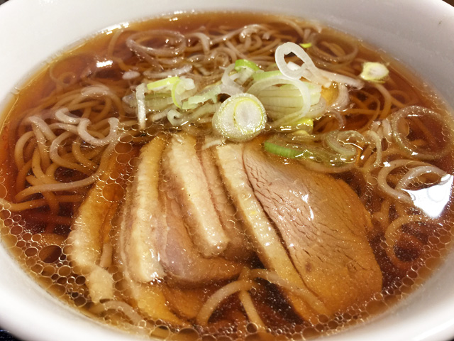 Duck Soba Noodles