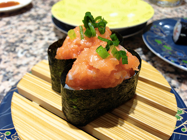 Fatty Salmon Gunkan-Maki