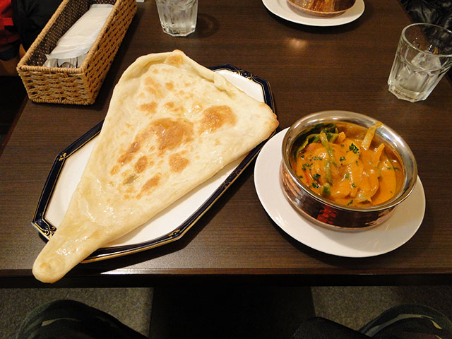 Chicken DoPiaza Curry with Plain Nan