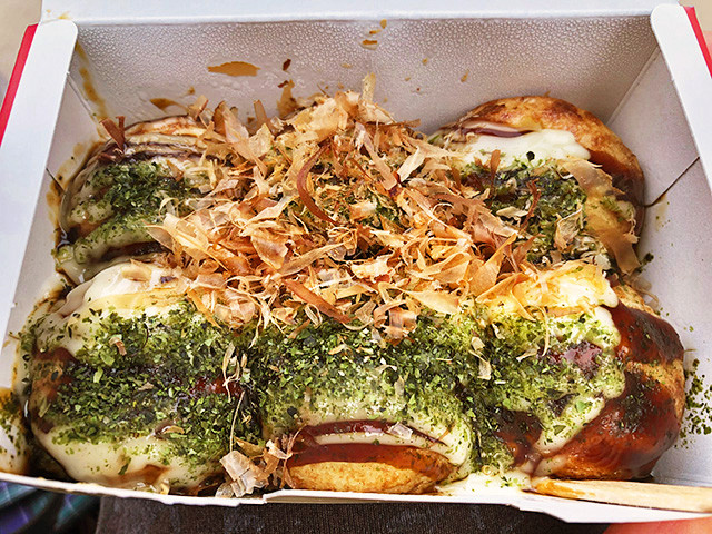 Takoyaki with Mayonnaise