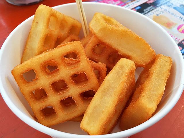 Waffle Potato