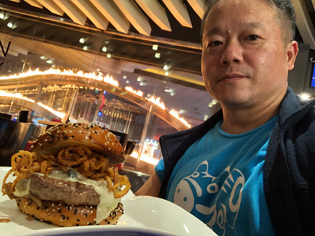 Dr. MaCHO with Stout Burger