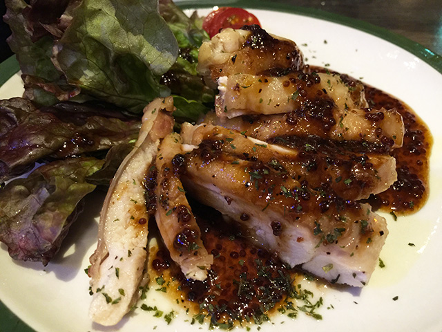 Grilled Chicken with Honey Mastard