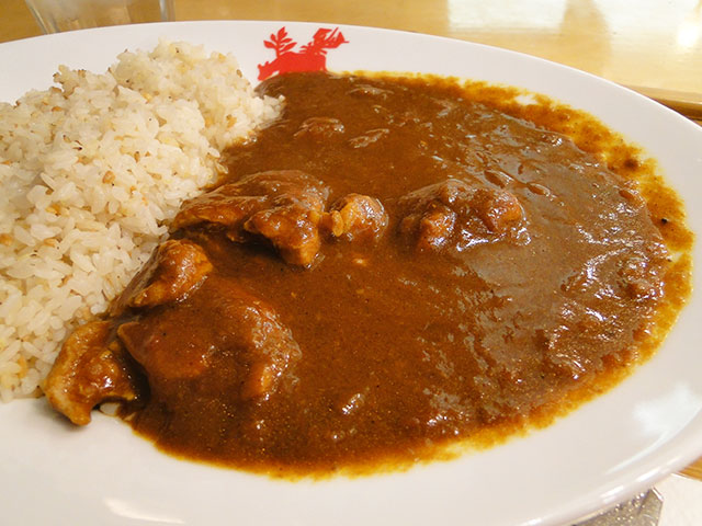 Spicy Chicken Curry with 5-Grain Rice